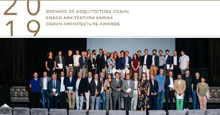 Premios COAVN Arquitectura 2019 - EHAEO Arkitektura Sariak 2019
